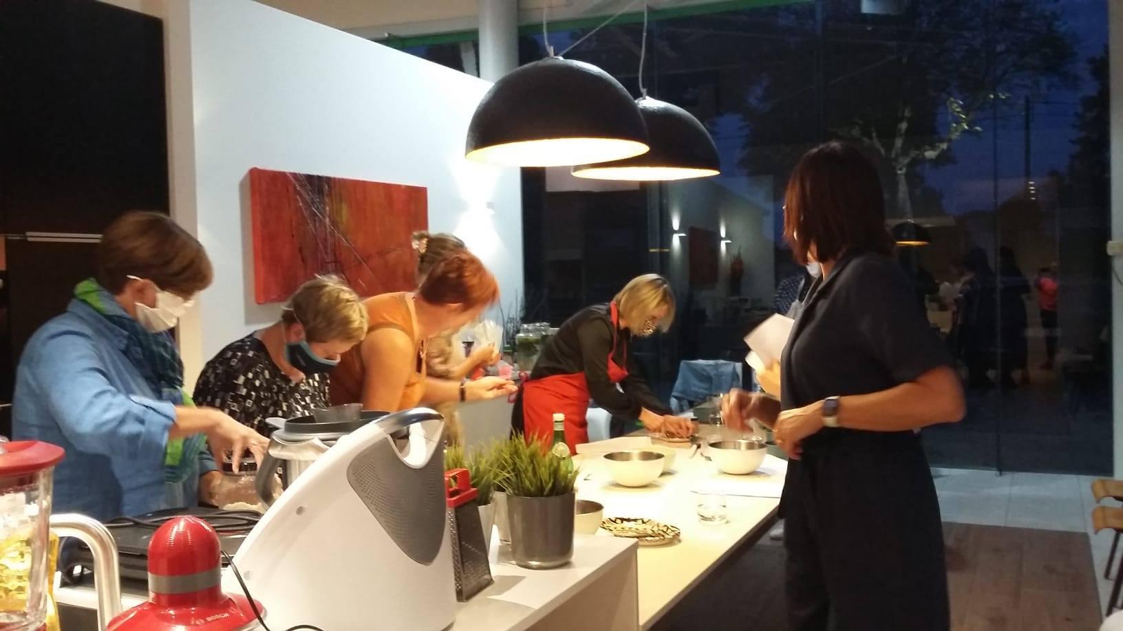 Eerste start-to-cook Sana workshop met Sandra Bekkari was een succes!
